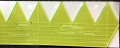 Longarm Chevron Ruler Guide 3 inch - 12 inch and 24 inch ruler set