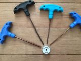 Block RockiT Machine Quilter T Handle Hex Wrench Tool Set