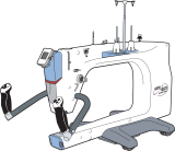 Block RockiT-Titan 21 Machine Quilter