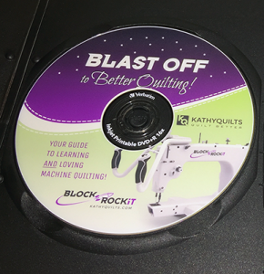 Blast Off To Better Quilting DVD