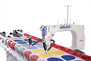 Grace Company Q'nique 21 Inch Long-Arm Machine Quilter - Kathy Quilts EDITION