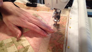 How to Quilt - Quilting a Wall Hanging with Kathy - Part 1 & 2